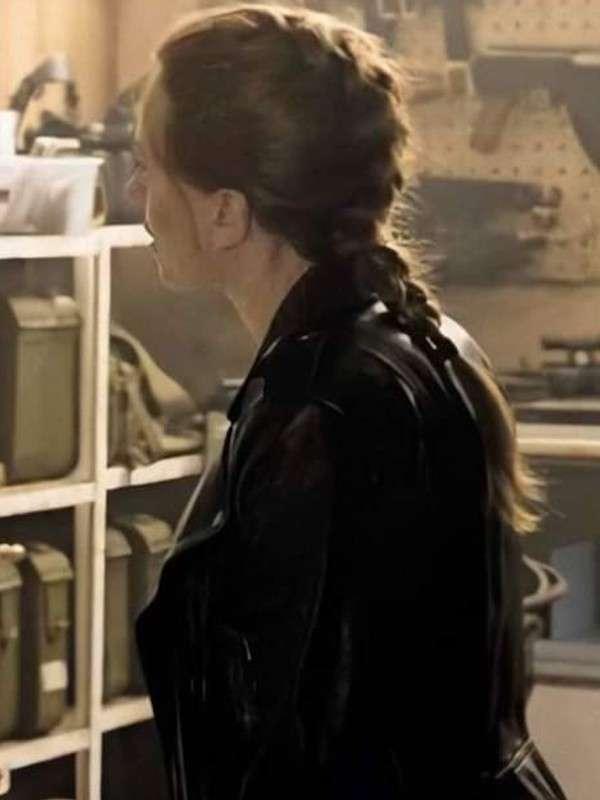 Natasha Romanoff Black Widow Biker Jacket