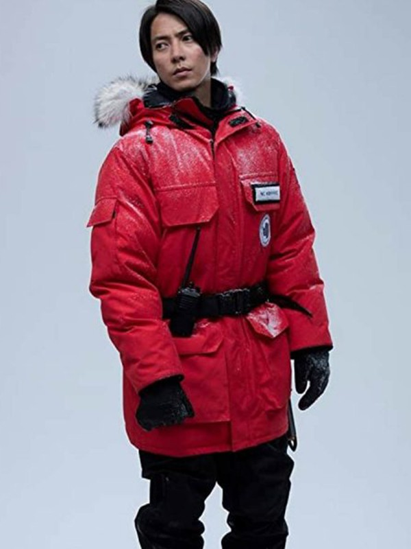 The Head Aki Red Parka