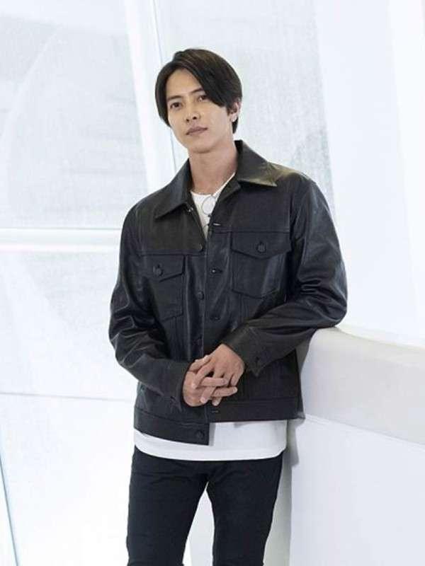 The Head Tomohisa Yamashita Leather Jacket