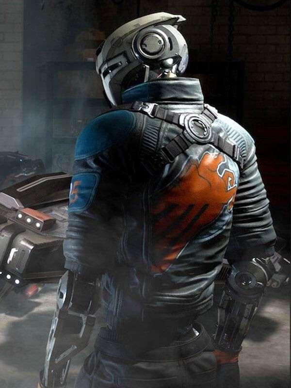 Video Game Disintegration Romer Shoal Jacket
