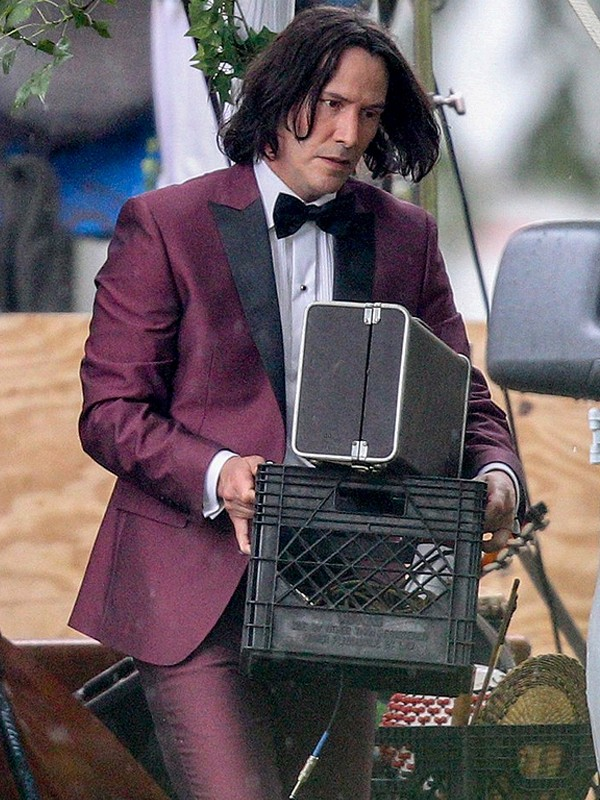Bill and Ted Face the Music Keanu Reeves Tuxedo