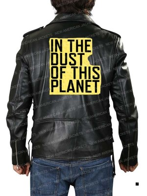 Jay Z in the Dust of this Planet Leather Jacket