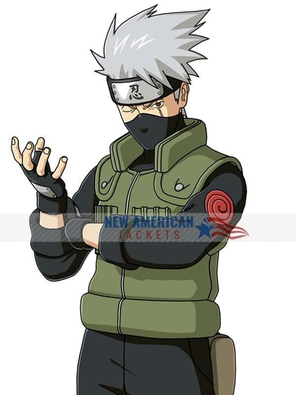 Naruto Kakashi Hatake Vest Costume