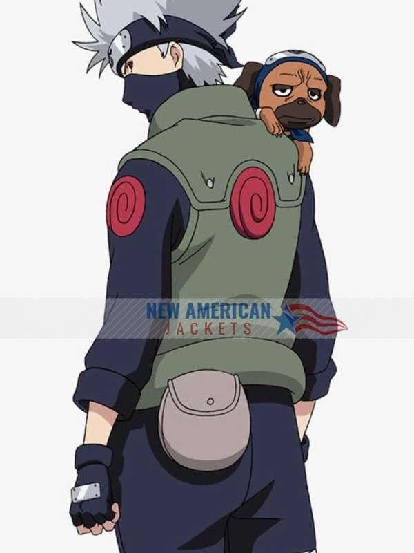 Naruto Kakashi Hatake Vest Costume Flak Jacket