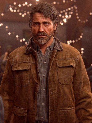 The Last of Us Joel Miller Leather Jacket
