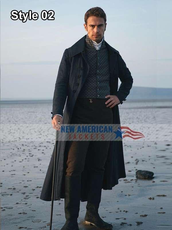 Theo James Sanditon Long Coat