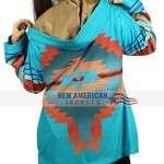Yellowstone Season 3 Blue Wool Coat