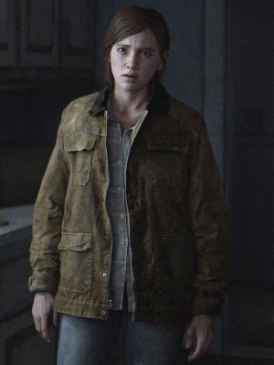 The Last of Us Part II Ellie Leather Jacket