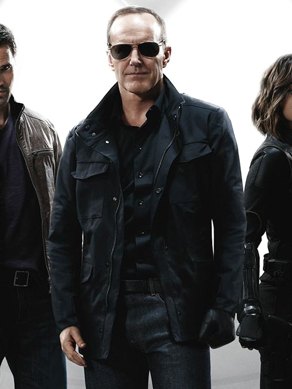 Agents of Shield Clark Gregg Coton Jacket