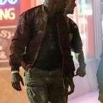 Jamie Foxx Red Suede Jacket