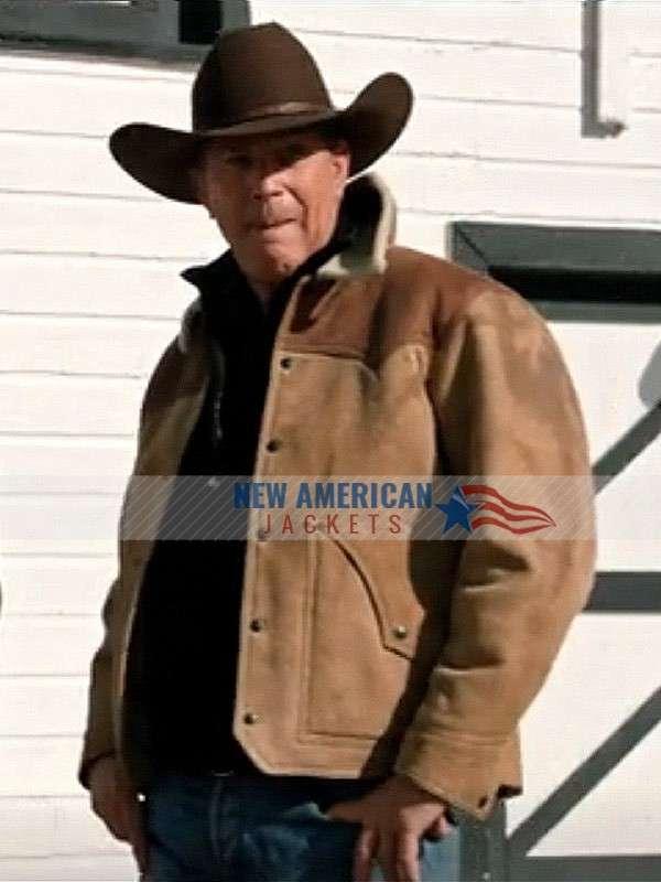 John Dutton Yellowstone Season 3 Leather Jacket