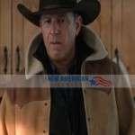 Season 3 Yellowstone John Dutton Shearling Jacket