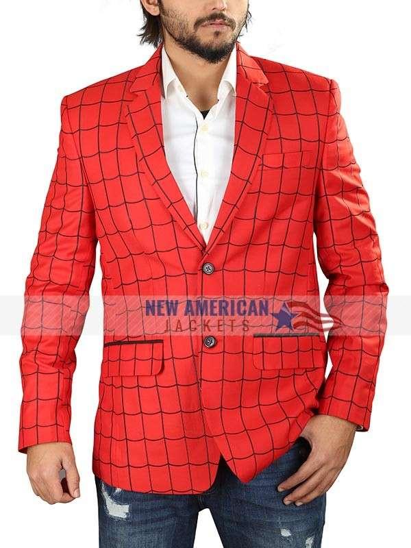 Spiderman Red Blazer