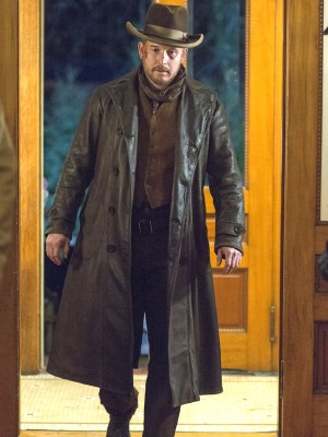 The Lizzie Borden Chronicles Cole Hauser Brown Coat