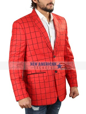 Tom Holland Spiderman Blazer Coat