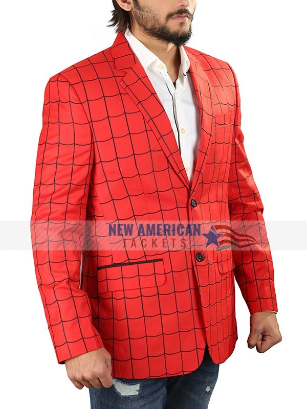 Tom Holland Spiderman Suit Jacket