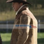 Yellowstone Season 3 John Dutton Leather Jacket