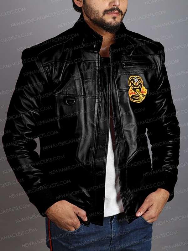 Cobra Kai Bomber Jacket Black
