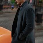 Damon Wayans Jr. Love Guaranteed Nick Evans Wool Coat
