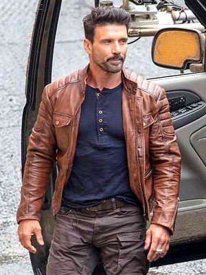 Frank Grillo Boss Level Leather Jacket