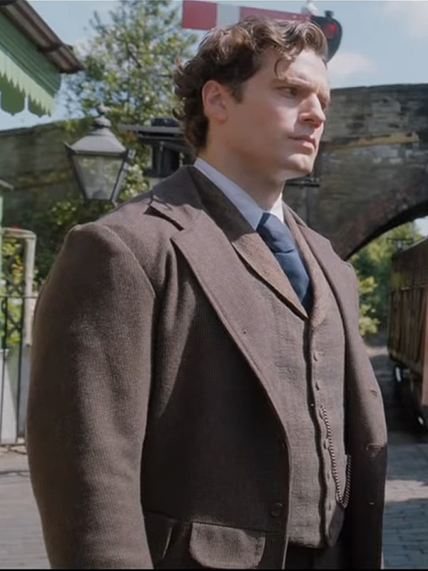 Henry Cavill Enola Holmes Wool Suit Coat