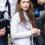 Lily Collins Emily in Paris White Jacket
