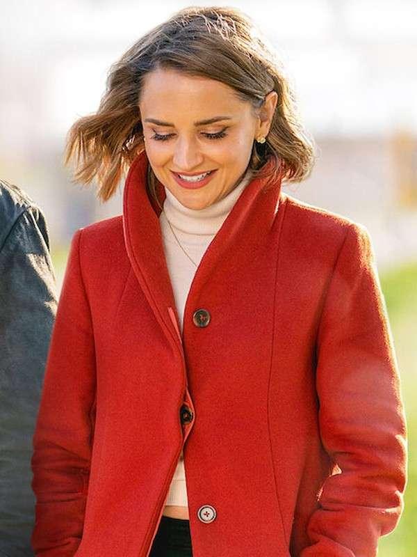 Love Guaranteed Susan Red Coat