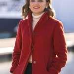 Rachael Leigh Cook Love Guranteed Red Coat