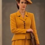 Sarah Paulson Yellow Ratched Coat