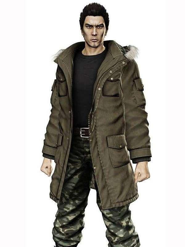 Yakuza 5 Taiga Saejima Parka Jacket Coat