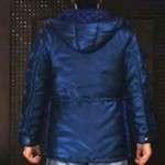 Yakuza 6 Kazuma Kiryu Hooded Blue Jacket