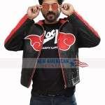 Naruto Akatsuki Hoodie Leather Jacket