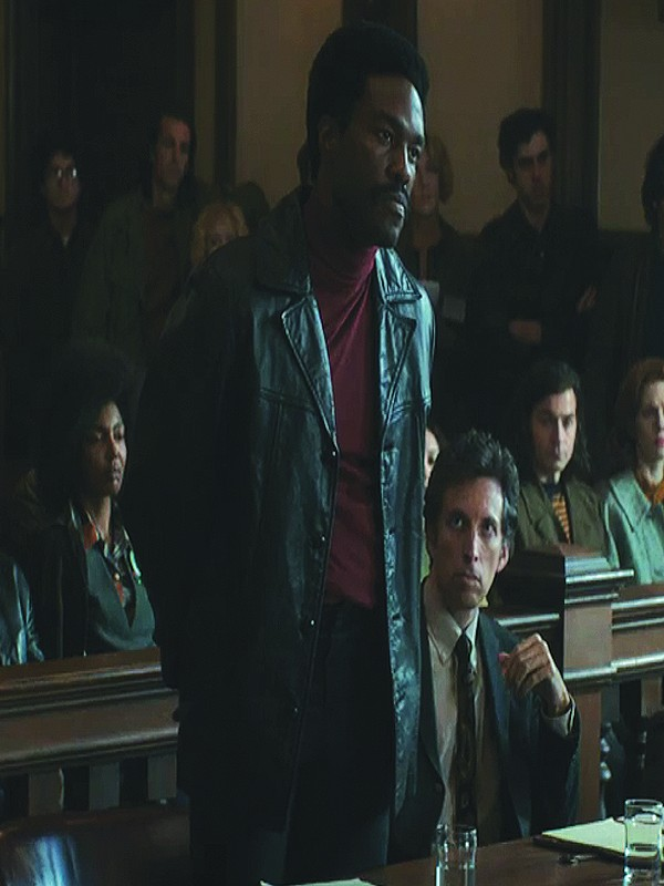 The Trial Of The Chicago 7 Bobby Seale Leather Jacket