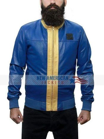 VAULT FALLOUT 76 LEATHER JACKET