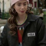 Emily In Paris HBA Logo Cropped Jacket