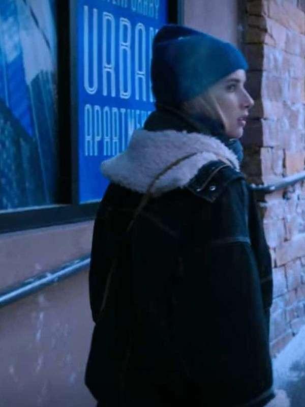 Emma Roberts Holidate 2020 Jacket