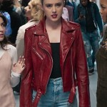 Freaky Kathryn Newton Leather Jacket