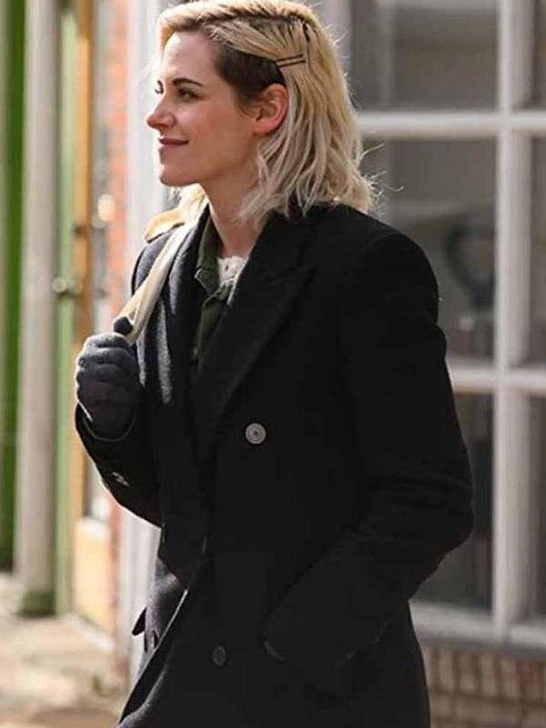 Happiest Season Kristen Stewart Coat