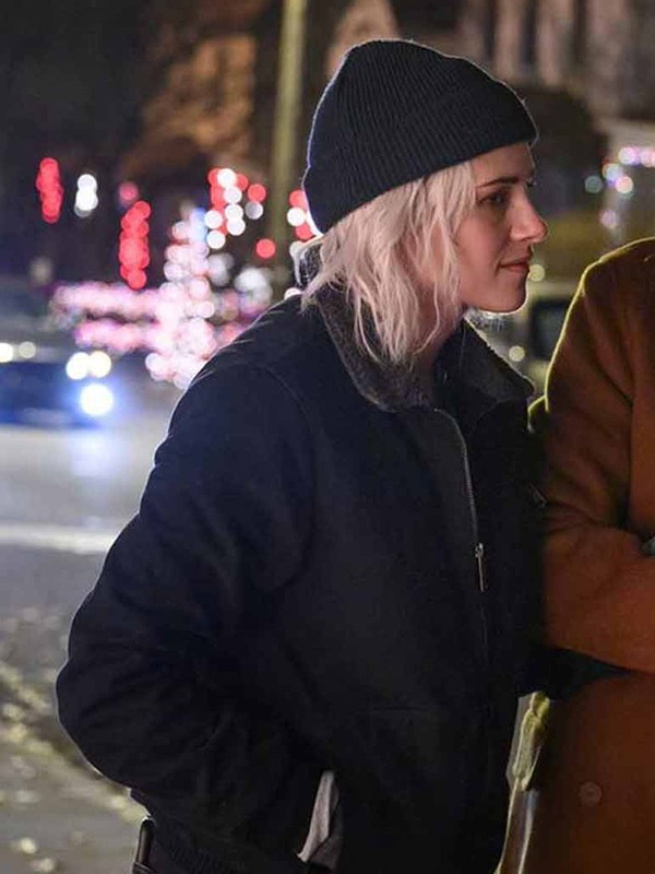 Happiest Season Kristen Stewart Wool Jacket