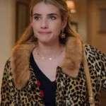 Holidate Sloane Leopard Print Coat