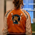 gunpowder milkshake karen gillan bomber jacket