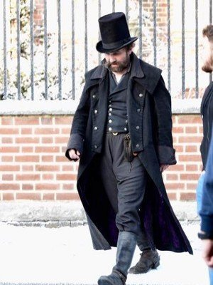 A Christmas Carol Tom Hardy Cotton Coat