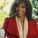 Christmas in Evergreen Bells Are Ringing Holly Robinson Peete Coat