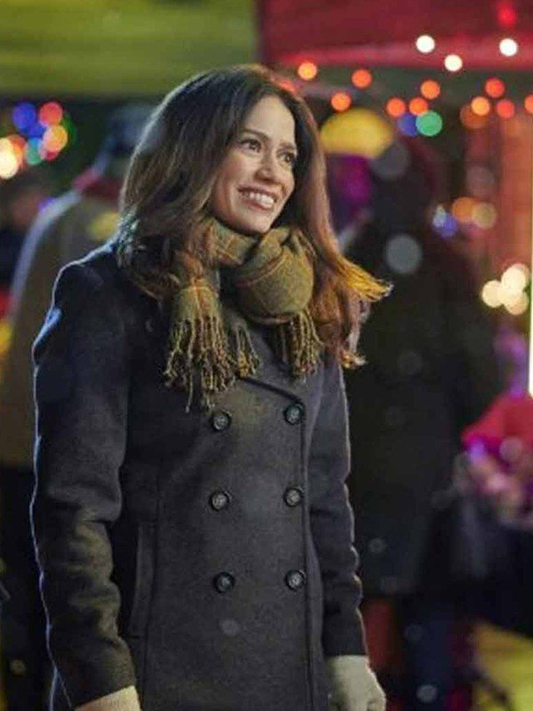 Five Star Christmas Bethany Joy Lenz Peacoat
