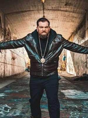 Bruce Soscia Godmothered Leather Jacket