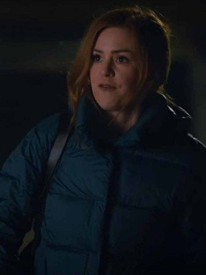 Isla Fisher Godmothered Puffer Jacket