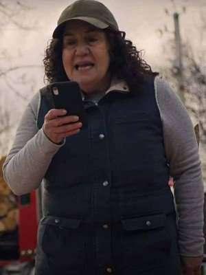 Godmothered Beth Blue Vest