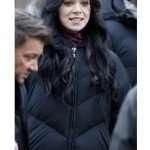 Hawkeye 2021 Hailee Steinfield Puffer Black Coat