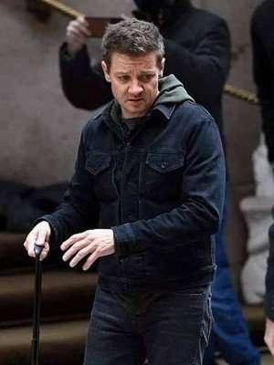 Hawkeye 2021 Clint Barton Black Jacket
