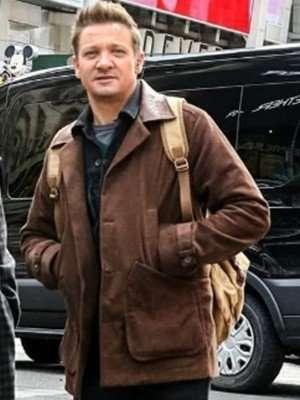 Clint Barton Hawkeye 2021 Brown Jacket